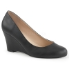 KIMBERLY - 08 Black Faux Leather